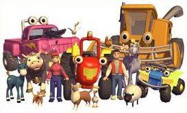 Tractor Том / трактор Том